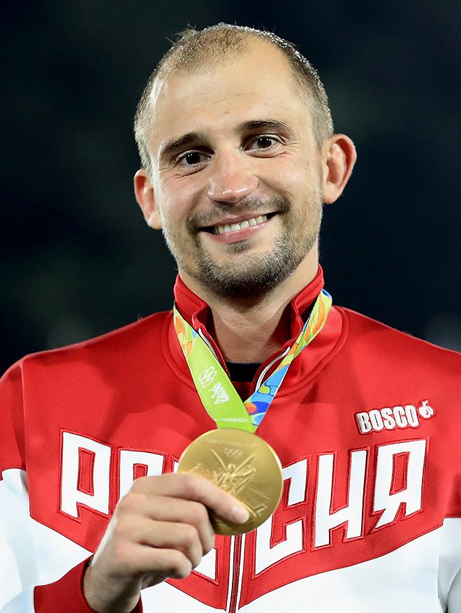 Олимпийский чемпион Олимпиады в пятиборье Александр Лесун