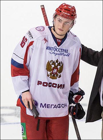 В первом матче Иван Барбашев был признан лучшим игроком сборной России