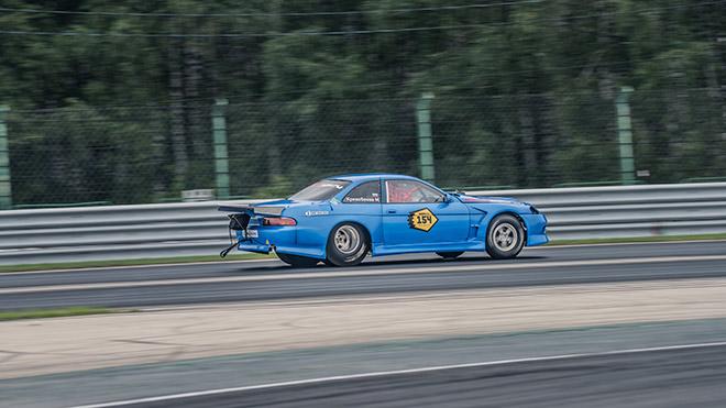 Максим Кривобоков на Toyota Soarer