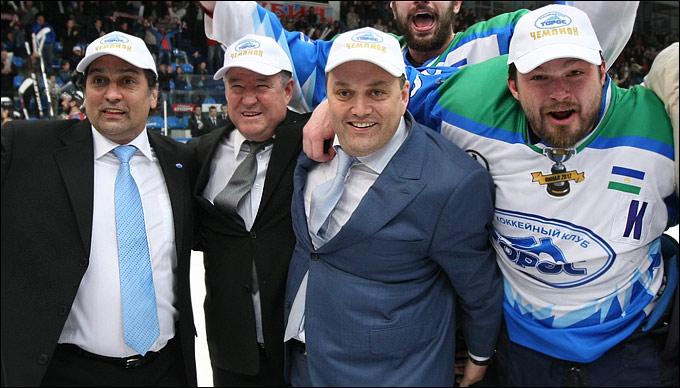 Руслан Сулейманов, Рамиль Усманов, Олег Аминов и Анатолий Степанов