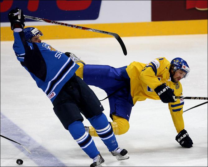 15 мая 2011 года. Чемпионат мира. Братислава. Финал. Швеция — Финляндия — 1:6