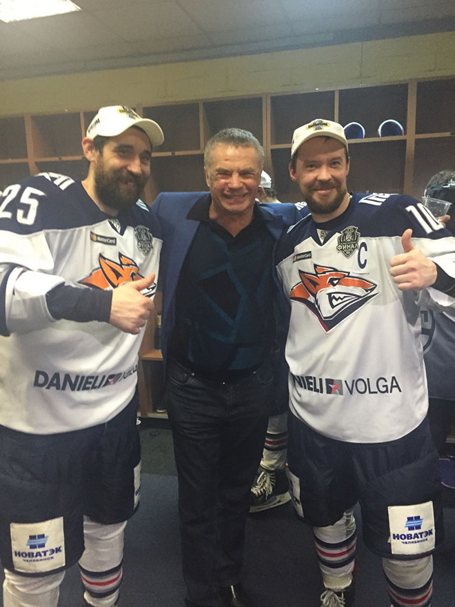 Зарипов, Медведев и Мозякин