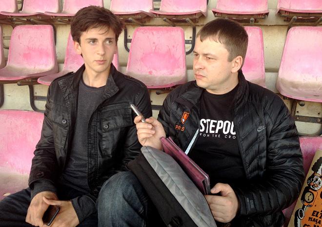 Амир Натхо и Олег Лысенко
