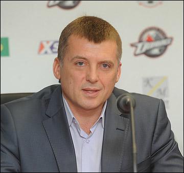 Генеральный менеджер сборной Украины Сергей Шакуров
