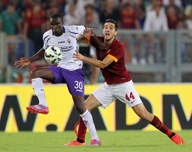 Чемпионат Италии — 2014/15. 1-й тур. «Рома» — «Фиорентина» — 2:0.
