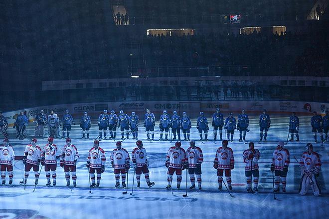 Владивосток. «Фетисов-Арена». «Уссурийские Тигры» — «Легенды хоккея СССР»