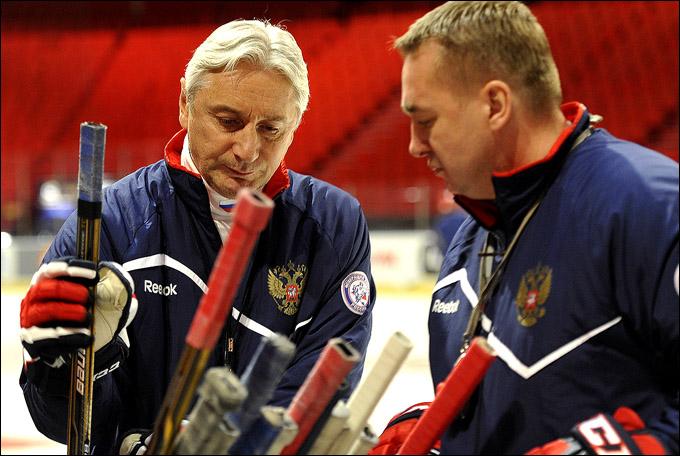 Зинэтула Билялетдинов и Валерий Белов в Стокгольме