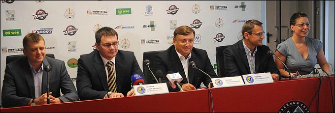 Представление тренерского штаба сборной Украины