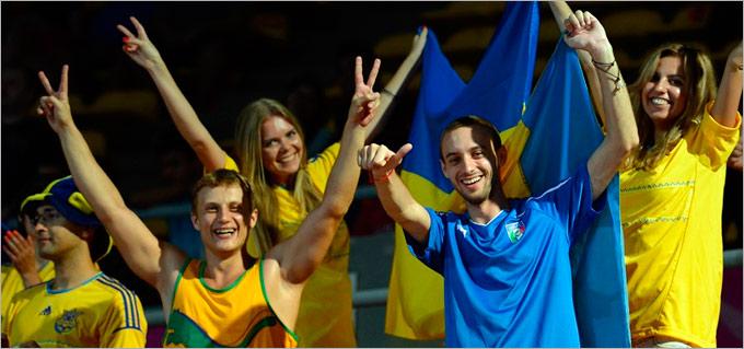 В Таиланде сборная Украины получала поддержку болельщиков