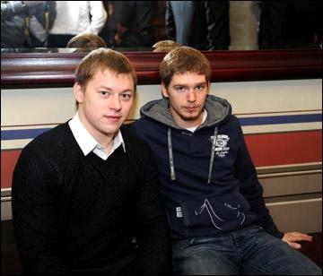 Владимир Тарасенко и Евгений Кузнецов