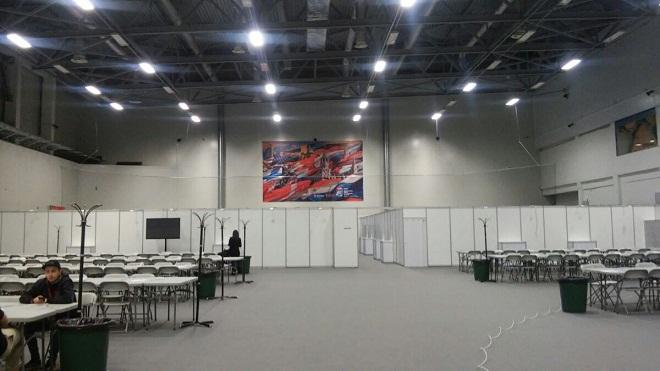 Пресс-центр «ВТБ Ледовый дворец»