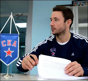 Илья Ковальчук подписывает контракт со СКА