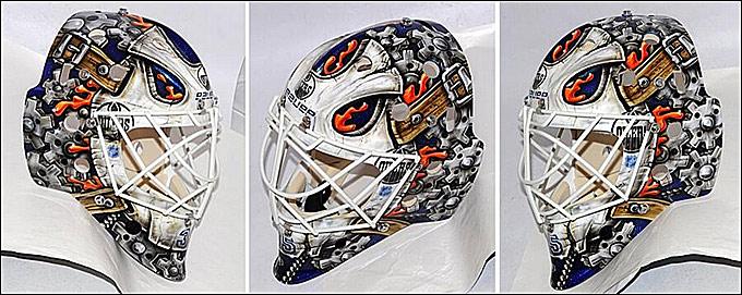 Новый шлем Виктора Фаста