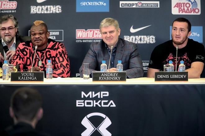 Пресс-конференция Лебедев — Каленга