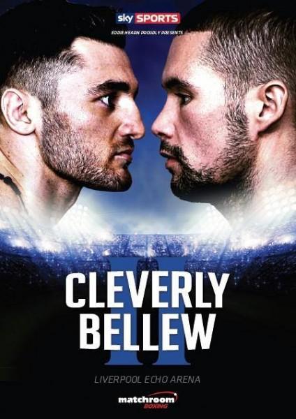 Постер к бою Клеверли — Бэлью