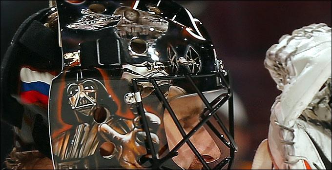 Новый шлем Ильи Брызгалова