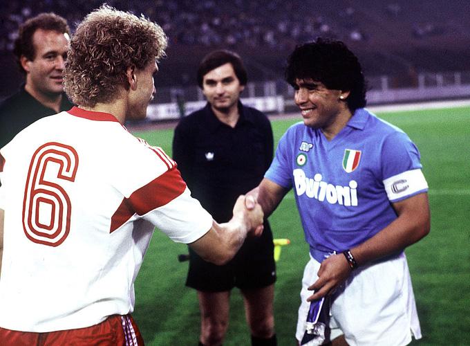 "Диего Марадона — капитан ""Наполи"". 1987 год"