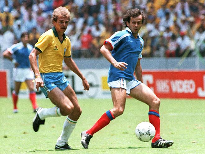 Бразилия – Франция. 1:1 (3:4 пен.). ЧМ-1986. Четвертьфинал