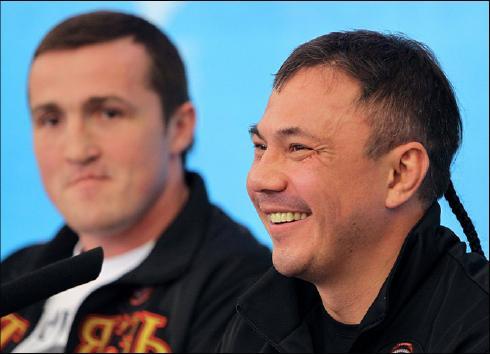 Денис Лебедев и Костя Цзю