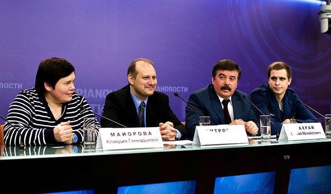 Клавдия Майорова, Андрей Антропов, Сергей Шахрай и Владимир Иванов