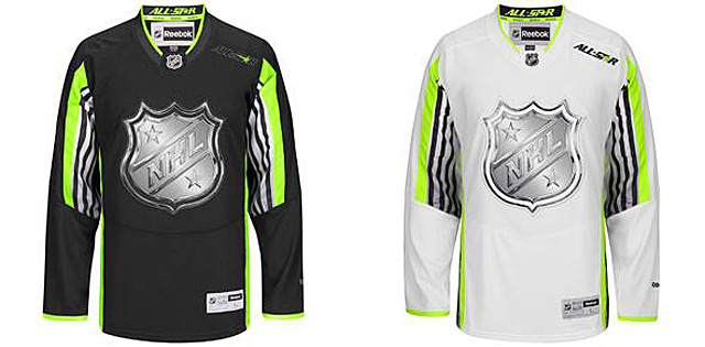 Форма команд на Матч звёзд НХЛ