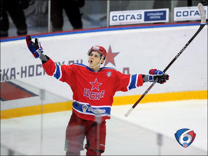 Николай Прохоркин — одна из ярчайших молодых звёздочек КХЛ