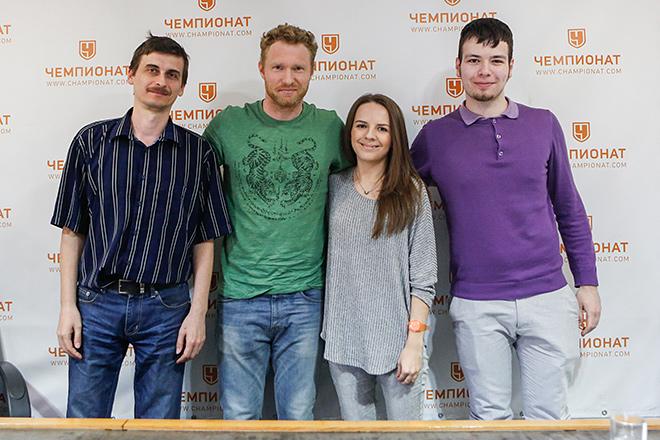 Дмитрий Турсунов в редакции «Чемпионата»