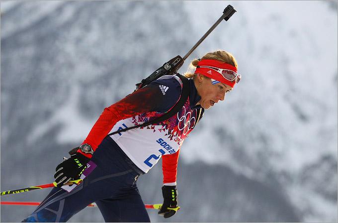 Российские биатлонистки провалились в индивидуальной гонке