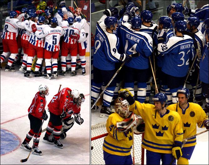 Хоккей. История чемпионатов мира. Часть 19. ЧМ-1999. Фото 06.