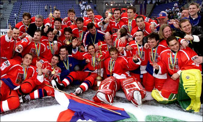 Хоккей. История чемпионатов мира. Часть 19. ЧМ-1999. Фото 07.