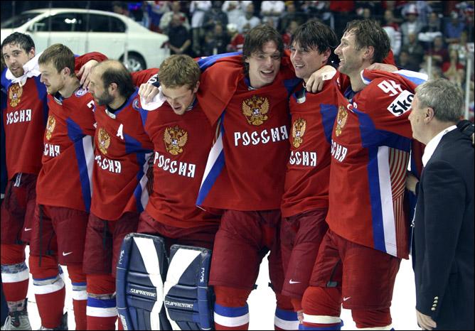 2008. Квебек. Сборная России.