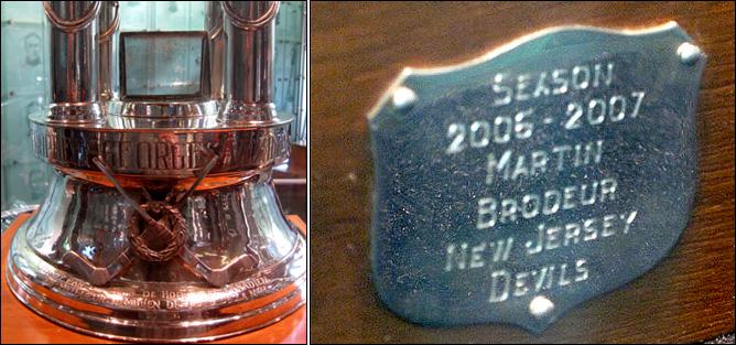 Трофеи НХЛ-2010. Фото 02.