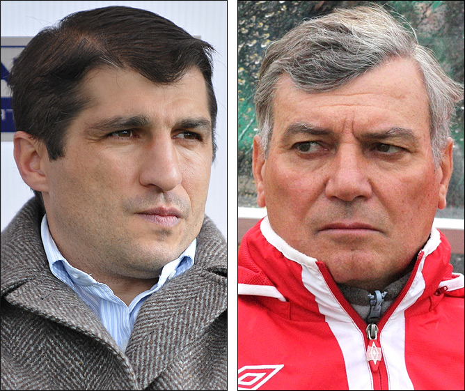 Омари Тетрадзе и Владимир Эштреков