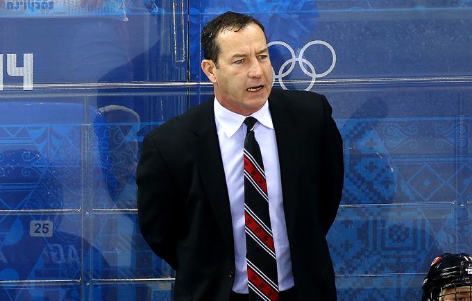 Главный тренер сборной Канады Кевин Дайнин стал олимпийским чемпионом Сочи. Но — с женской сборной