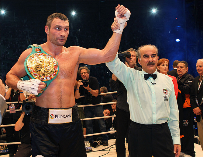 Кличко провёл седьмую защиту чемпионского пояса WBC кряду