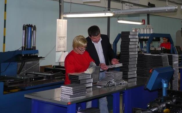 Производство радиаторов LUZAR в Санкт-Петербурге
