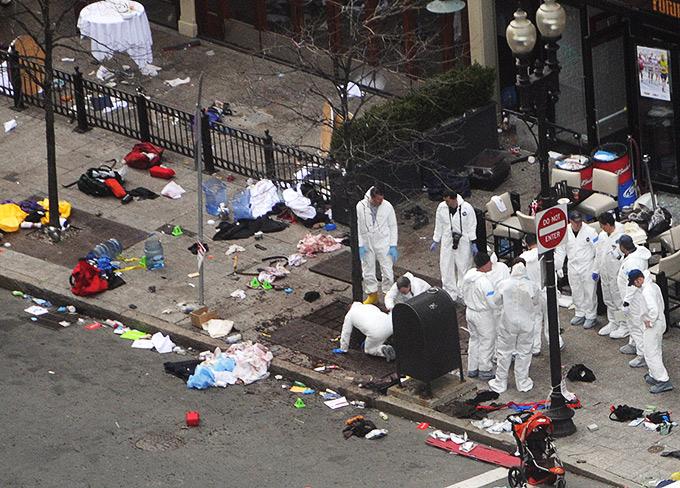 Прошлый маарфон в Бостоне закончился трагедией