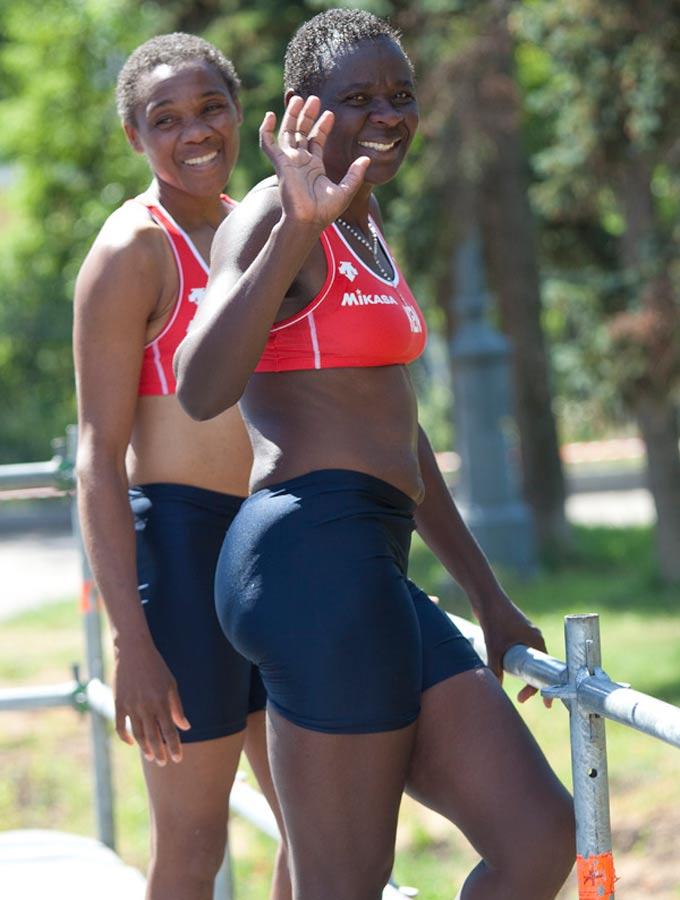 Женская сборная Кении по пляжному волейболу