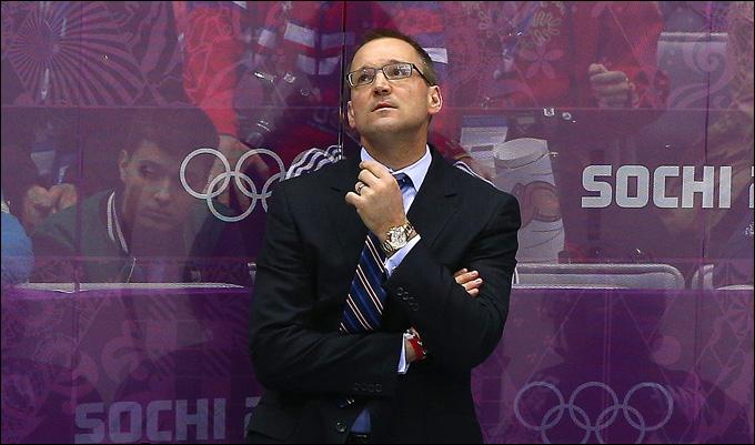 Главный тренер сборной США Дэн Байлсма