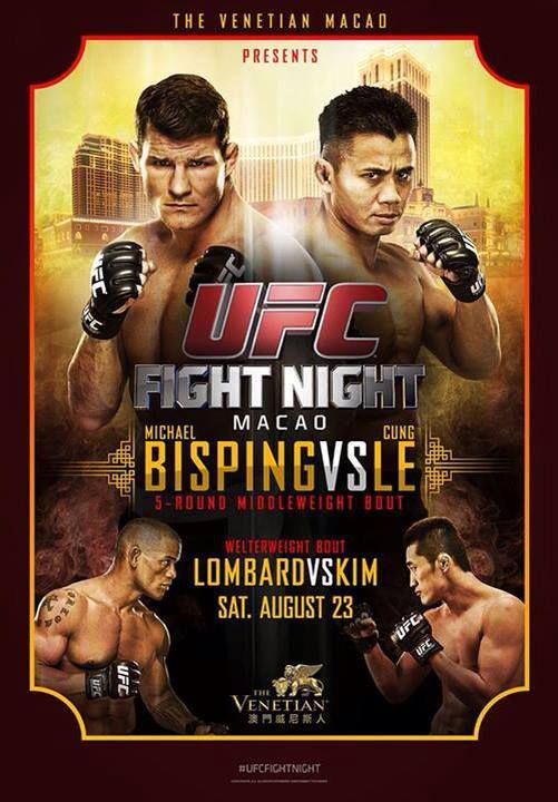 Постер к турниру UFC Fight Night
