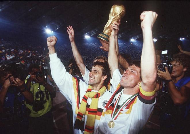 Сборная Германии на чемпионате мира 1990 года