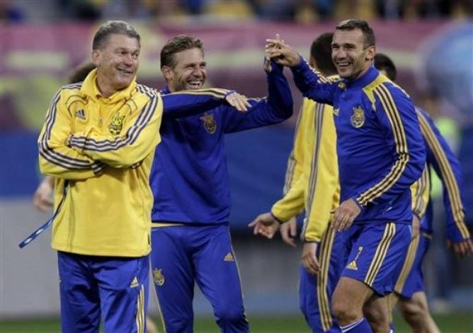 Шевченко пообещал, что 11 июня Украина сыграет по-другому