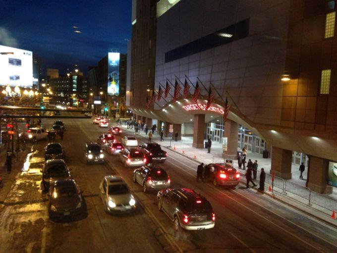 Баскетбольный дворец Target Center