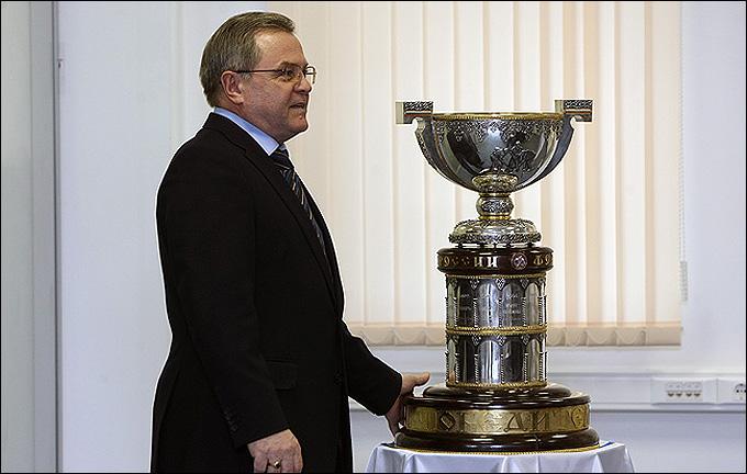 5 марта 2012 года. Москва. Пресс-конференция, посвященная началу плей-офф ВХЛ
