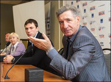 Борис Попов, первый тренер Алексея Емелина