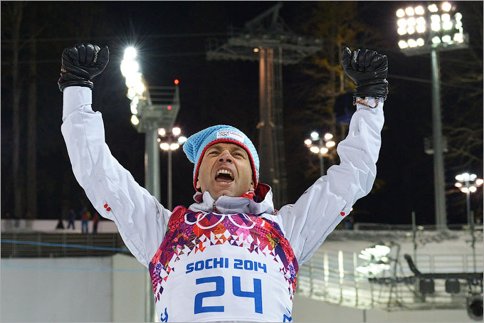 Уле-Эйнар Бьорндален стал семикратным олимпийским чемпионом