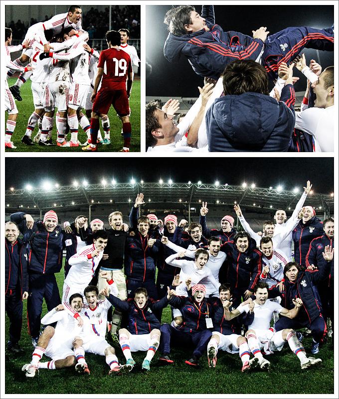 Молодёжная сборная — в финале Евро!