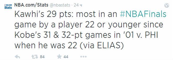 Последним игроком, которому было 22 года или меньше, набиравшим 29 и более очков, был Коби Брайант.