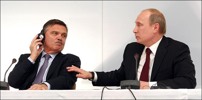"""""""Рене Батькович, я чего приехал-то? Сам посуди: Олимпиада у нас будет, футбольный мундиаль будет, а хоккейного нет. Непорядок!.."""""""