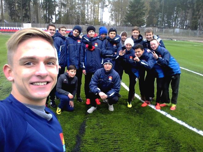 Егор Супрун с друзьями